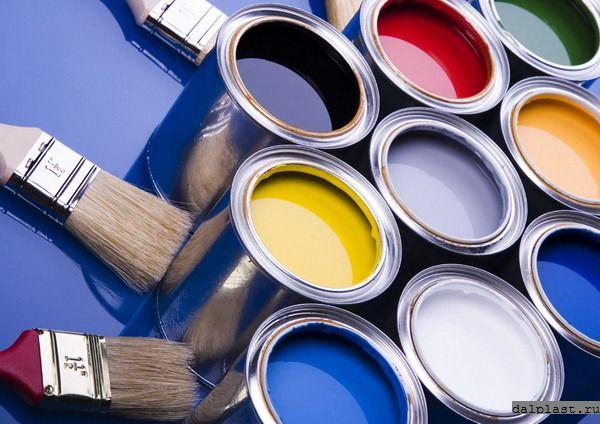 Краски строительные цвета