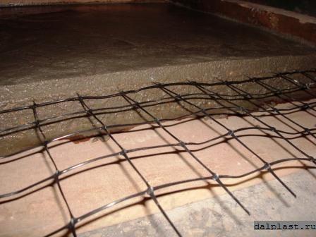 Сетка для армирования бетона