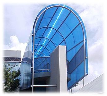 Вариант использования поликарбоната