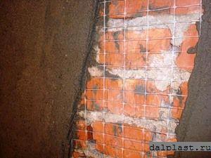 Пластиковая сетка оштукатуривание